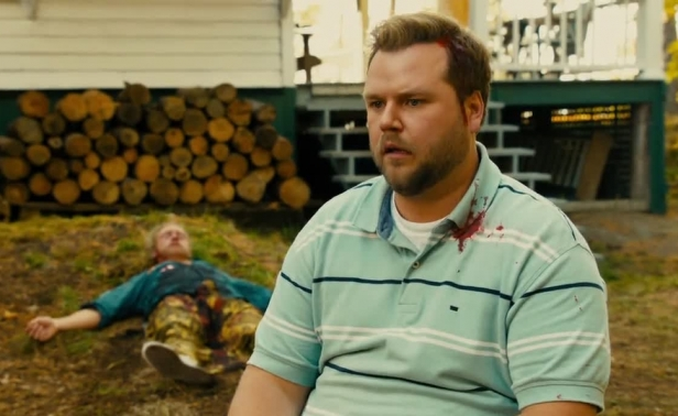 Tyler Labine following...an incident in Cottage Country