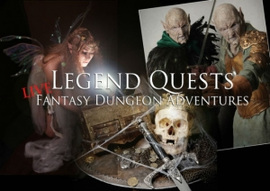 Coming to Kickstarter: Legend Quests' live dungeon crawl