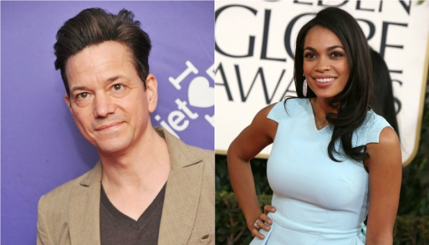 Frank Whaley and Rosario Dawson