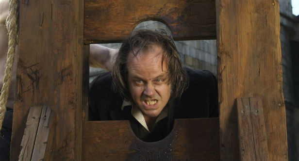 Fessenden facing the chop as Willy in Glenn McQuaid's I Sell The Dead