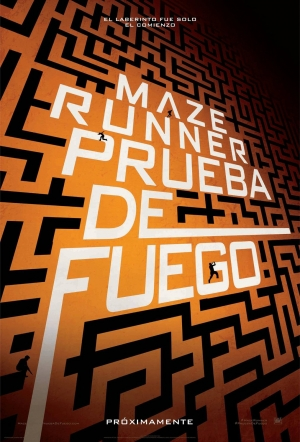 Maze Runner: The Scorch Trials Spanish poster is fun