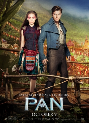 Pan new Tiger Lilly and Hook poster is the worst