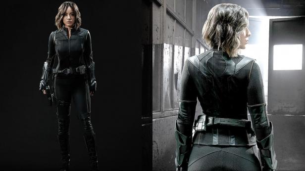 Skye-- um, we mean Daisy Johnson-- no, wait, Quake rocks a cool new costume