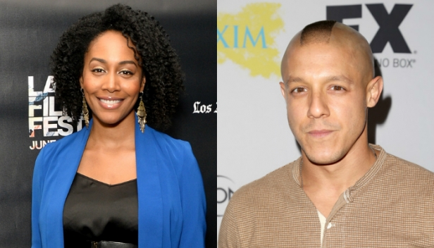 Simone Missick and Theo Rossi