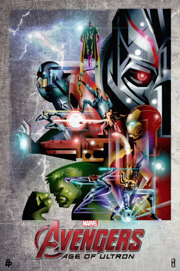 Kaz's poster for Avengers: Age Of Ultron