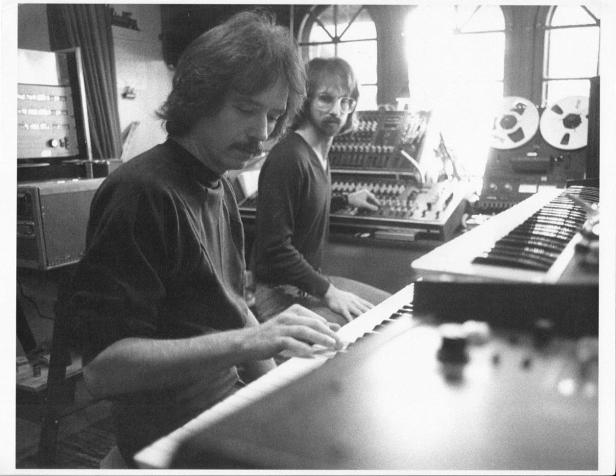 Alan Howarth and John Carpenter