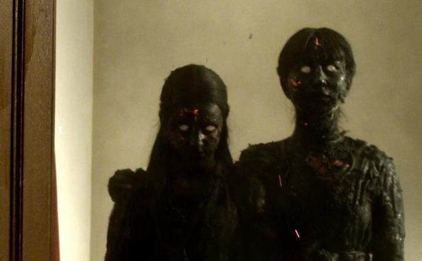 The spirits of the Dagmar family still linger in the house...