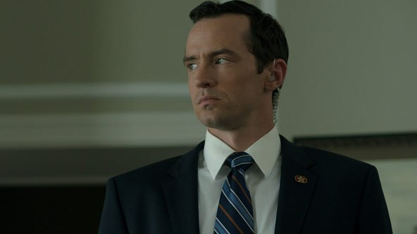 Nathan Darrow as Meechum in House Of Cards