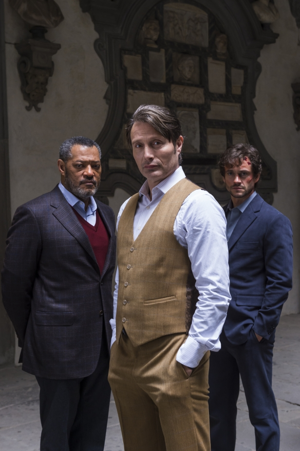 "HANNIBAL -- ""Antipasto"" Episode 301 -- Pictured: (l-r) -- (Photo by: Brooke Palmer/NBC)"