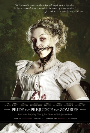 Pride And Prejudice And Zombies poster is in want of more brains