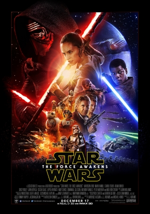 Star Wars 7: the Force is strong in the new poster