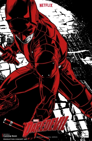Daredevil Season 2 concept art poster is rad