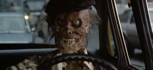 The cab driver ghost from Ghostbusters