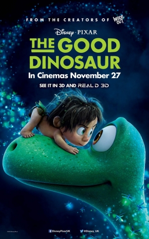 The Good Dinosaur new UK and German posters are adorable