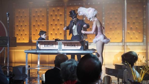 GOTHAM:  Bruce (David Mazouz) in ÒRise of the Villains: The Last LaughÓ episode of GOTHAM airing Monday, Oct. 5 (8:00-9:00 PM ET/PT) on FOX. ©2015 Fox Broadcasting Co. Cr: Nicole Rivelli/FOX.