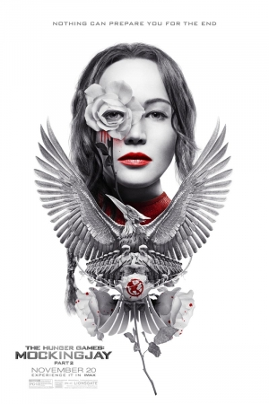 Mockingjay Part 2 IMAX poster is super fancy