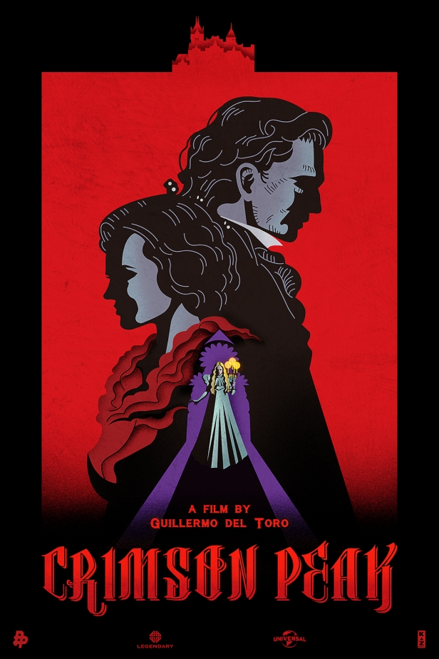 Kaz's poster for Crimson Peak