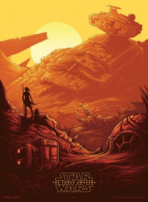 Star Wars Episode 7 – The Force Awakens IMAX poster is gorgeous