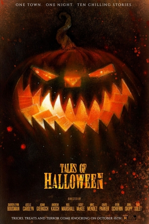 Tales Of Halloween new poster goes old school