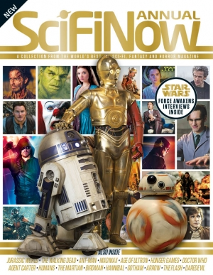 Get the best of 2015's sci-fi in the SciFiNow Annual!