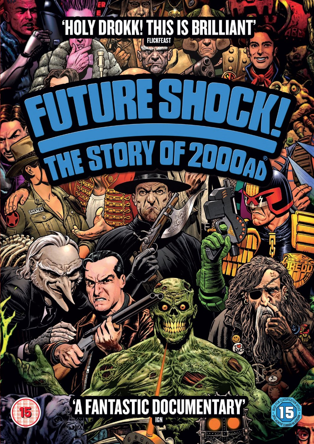Future Shock! The Story Of 2000 AD film review