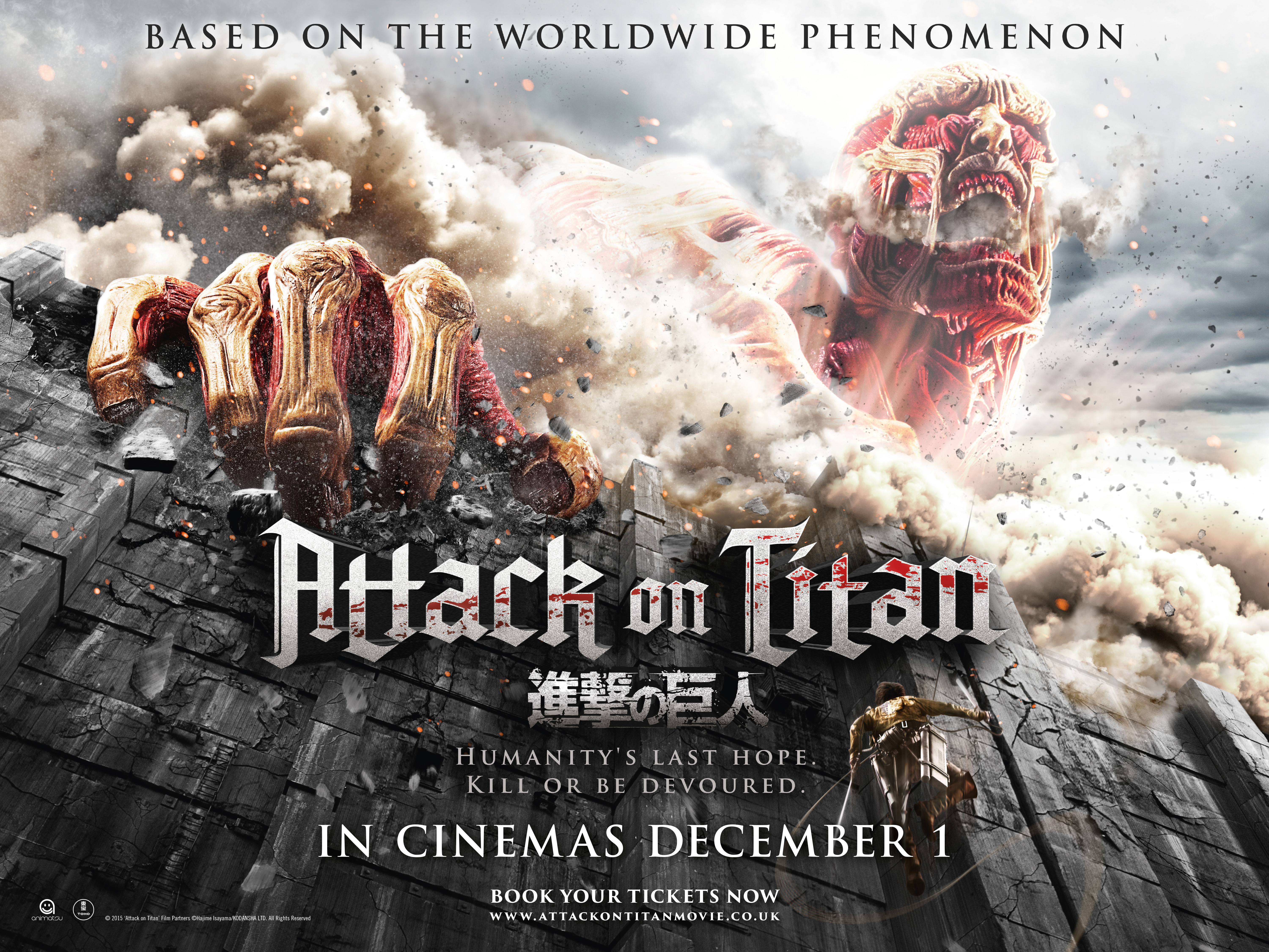 Attack On Titan Part 1 film review: Running From Giants