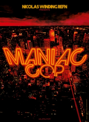 Maniac Cop remake first poster is nice and neon