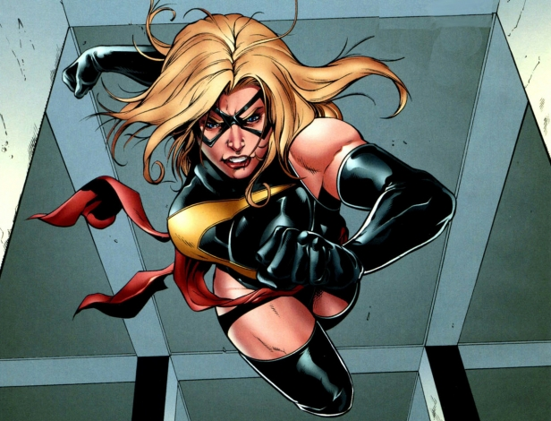 Ms Marvel Carol Danvers Jessica Jones
