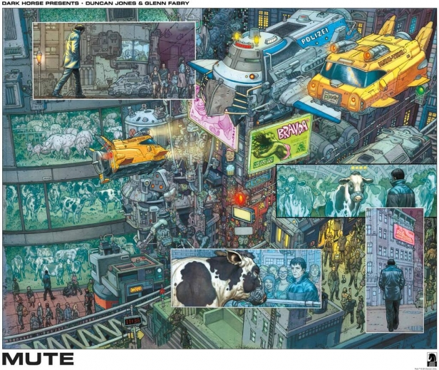 Scifinow The World S Best Science: Duncan Jones' Mute Casts Two Excellent Leads