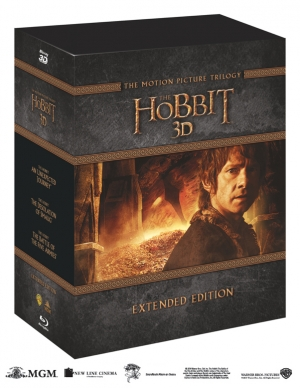 Win THE HOBBIT TRILOGY EXTENDED EDITION BOX SET on Blu-ray 3D!