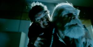 A Christmas Horror Story clip zombie elves attack Santa