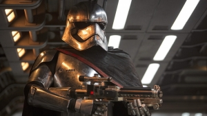 Star Wars 7: Captain Phasma takes aim in new Force Awakens pic