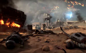 Star Wars Battlefront trailer throws you into Battle of Jakku
