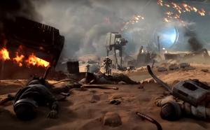 Star Wars Battlefront trailer throws you into Battle of Jakku