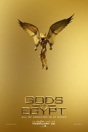 Gods Of Egypt new posters are teeny