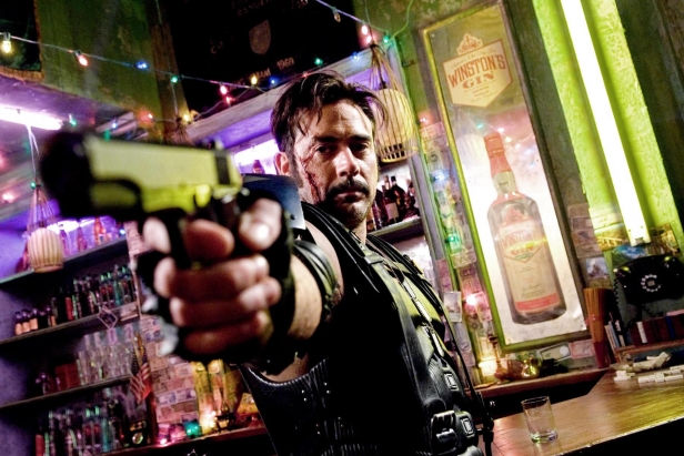 Jeffrey Dean Morgan in Watchmen
