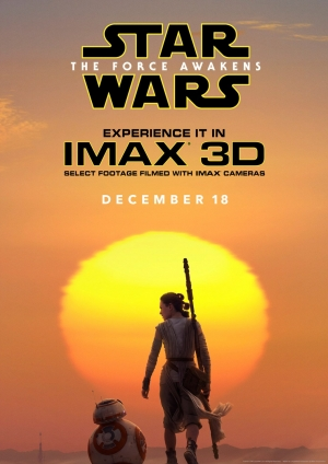 Star Wars: The Force Awakens new IMAX poster is all Rey