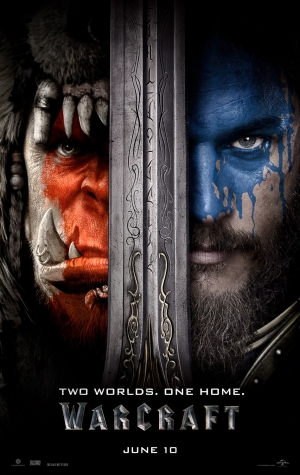 Warcraft new poster has two worlds and one home
