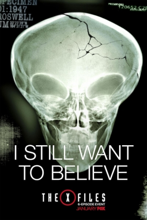 The X Files new poster still wants to believe