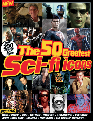 The 50 Greatest Sci-fi Icons is on sale now