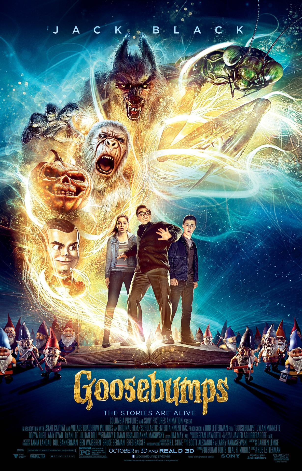 Goosebumps film review: viewer beware!