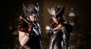 "Hawkman and Hawkgirl ""are like an old married couple"""