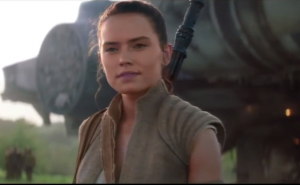Star Wars 7: The Force Awakens TV spot shows new character