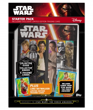 Win Journey to Star Wars: The Force Awakens new collection from Topps