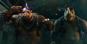 Turtles 2 trailer introduces Rocksteady and Bebop