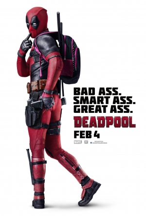 Deadpool first international poster has a great ass