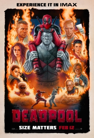 Deadpool new poster is cheeky retro B-movie goodness