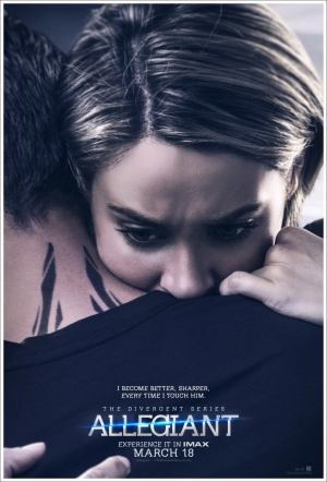 Allegiant new posters are clinging on for dear life