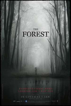 The Forest poster Natalie Dormer gets lost in the woods