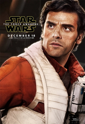 Star Wars: The Force Awakens Oscar Isaac poster is lush